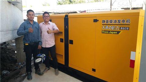 静音500千瓦柴油发电机移动电站用