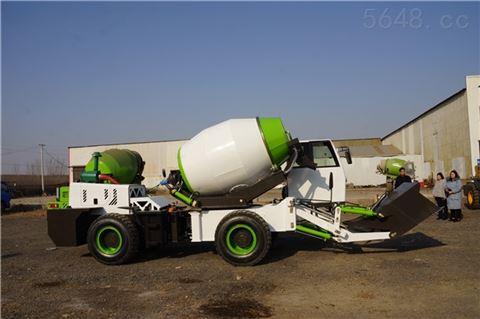 自动上料搅拌一体车水泥混凝土拌和设备价格