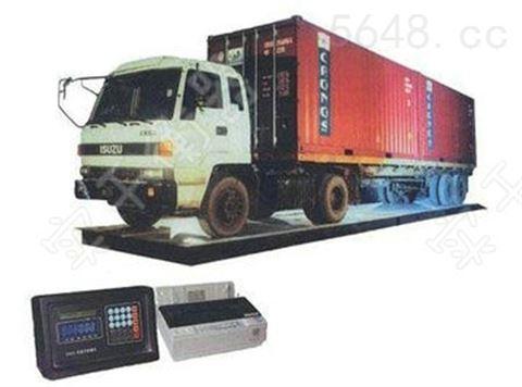 车辆安检汽车衡,汽车安全重量检测电子衡