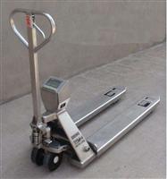 3吨不锈钢液压搬运电子叉车秤