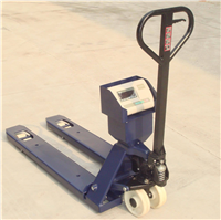 1000kg叉車秤,搬運車電子秤,上海液壓車稱
