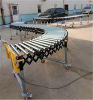 可折疊式動力伸縮滾筒輸送機生產商直供