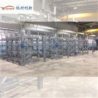 層板船用存儲貨架后推式,PE管材堆放貨架